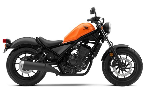 Rebel 300 2019-2020 สีส้ม
