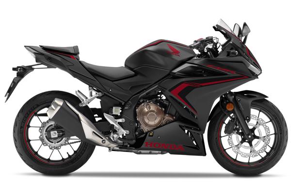 CBR500R 2020 สีดำ