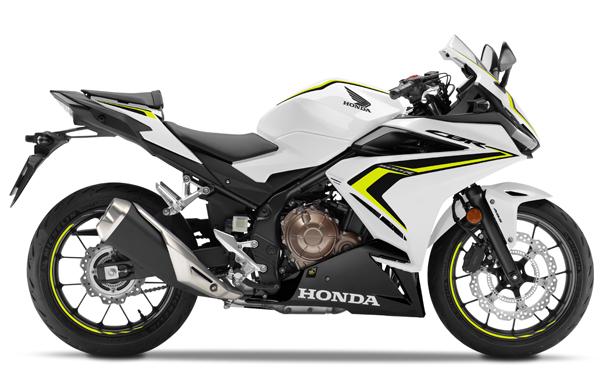 CBR500R 2020 สีขาว