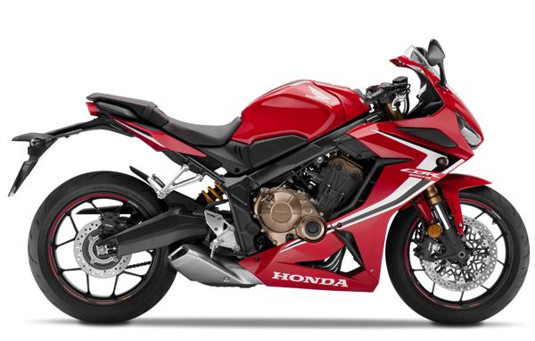 CBR650R 2020 สีแดง