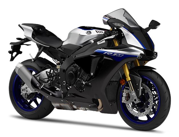 Yamaha R1M สีเงิน-ดำ