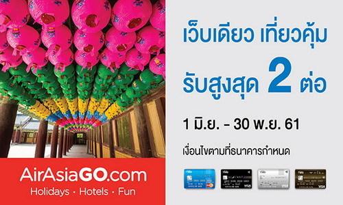 บัตรเครดิต TMB, AirAsiaGO.com