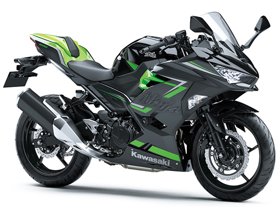 Ninja400 2019 High Grade สีดำ-เทา