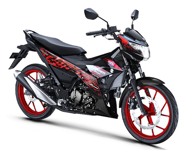 Raider 150 2019 สีดำ-แดง