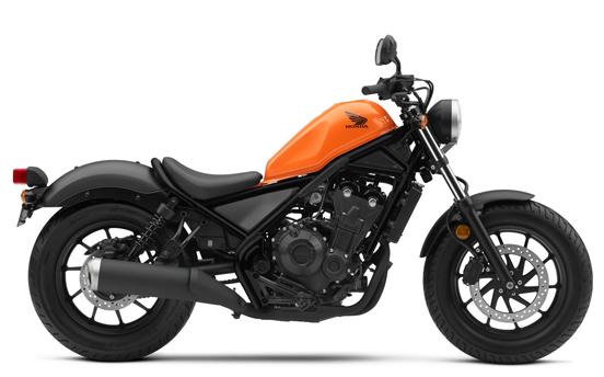 Rebel 500 2019 สีส้ม