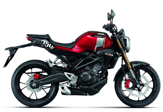 CB150R 2020 สีแดง