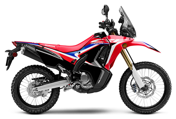 CRF250 Rally 2019-2020 สีแดง-ดำ