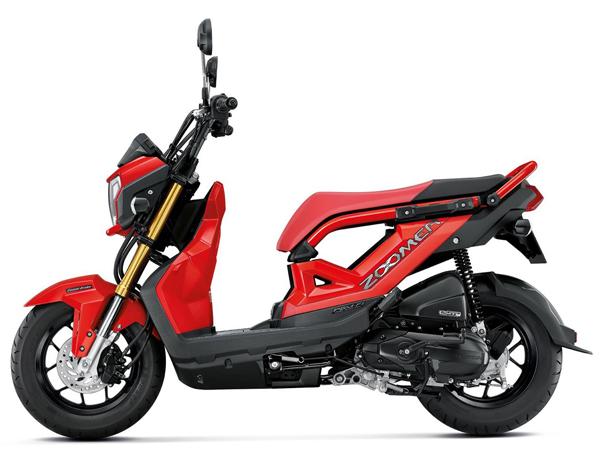 Zoomer X 2019-2020 สีแดง