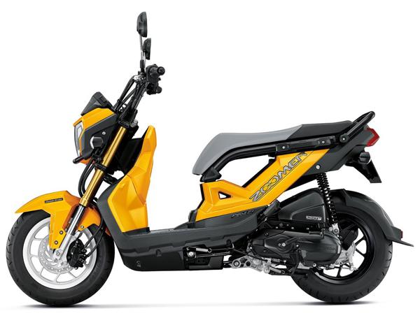 Zoomer X 2019-2020 สีเหลือง