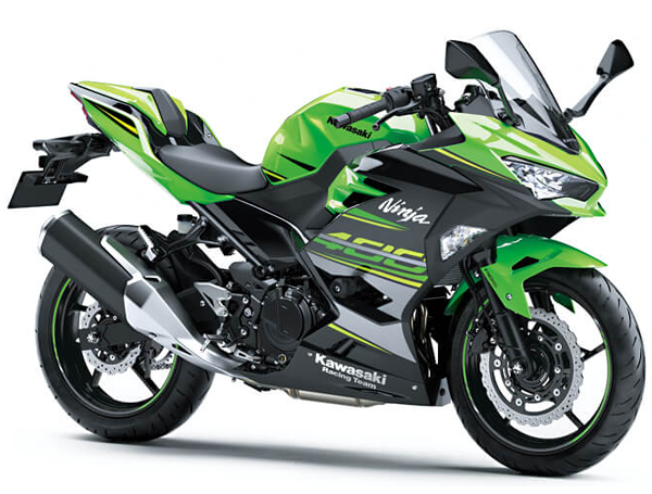 Ninja400 2019 KRT สีเขียว-ดำ