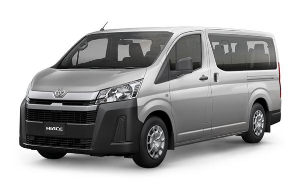 Toyota Hiace 2019-2020 Silver