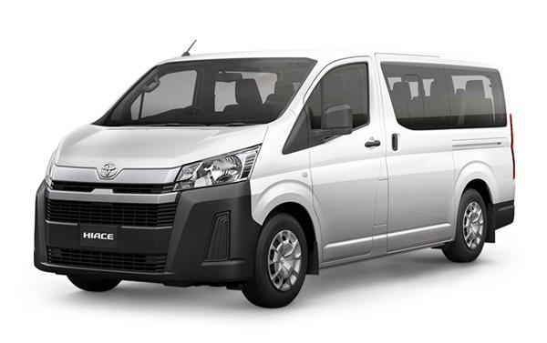 Toyota Hiace 2019-2020 White