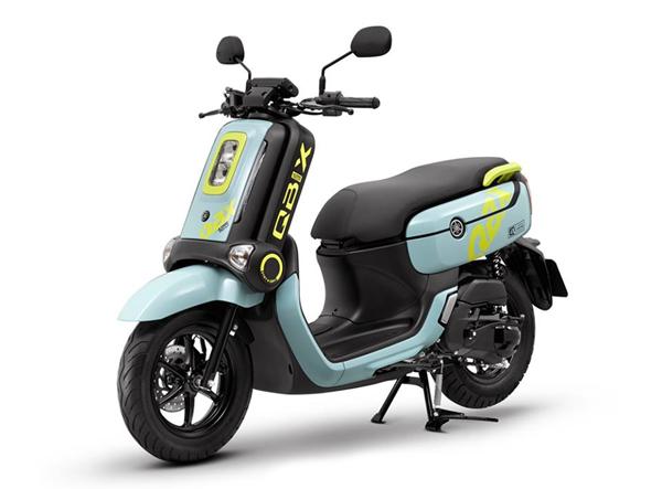 Yamaha QBIX 2019 สีเขียว-ดำ