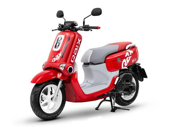 Yamaha QBIX ABS 2019 สีแดง