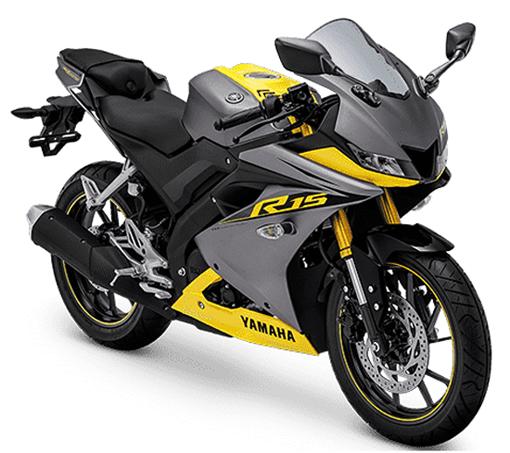 Yamaha R15 2019 สีเทา-เหลือง
