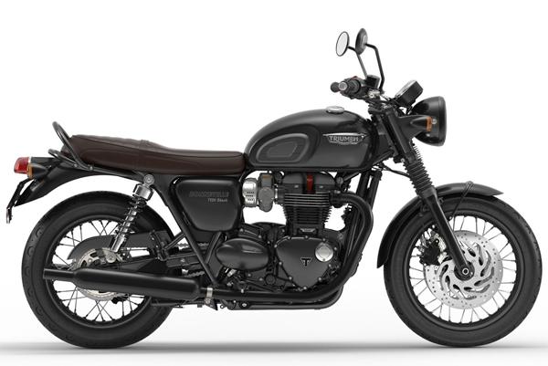 Bonneville T120 Black สีดำ
