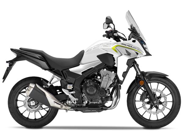 CB500X 2019 สีขาว