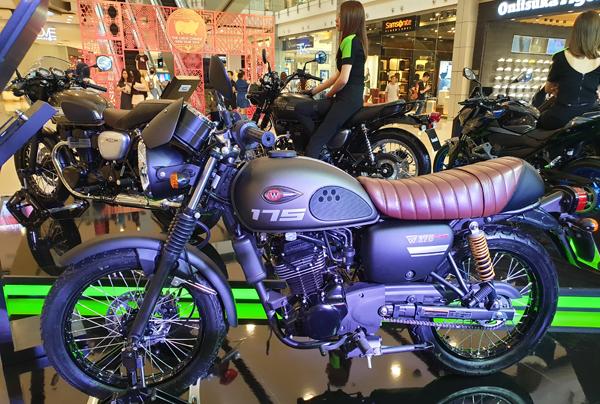 Kawasaki W175 Cafe 2019