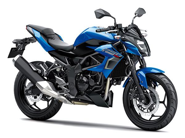 Z250SL 2019 สีน้ำเงิน