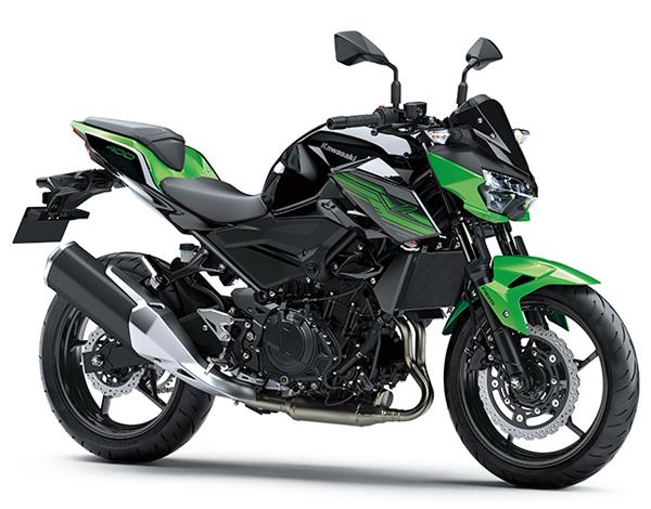 Z400 2019 สีเขียว-ดำ