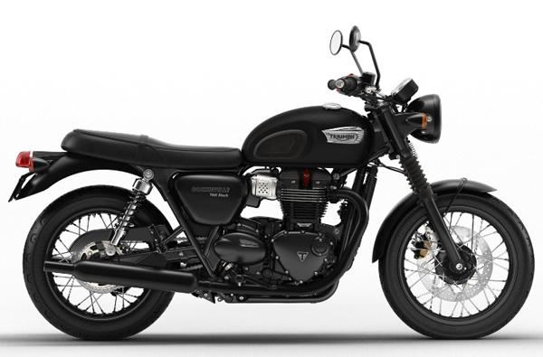 Bonneville T100 Black สีดำด้าน
