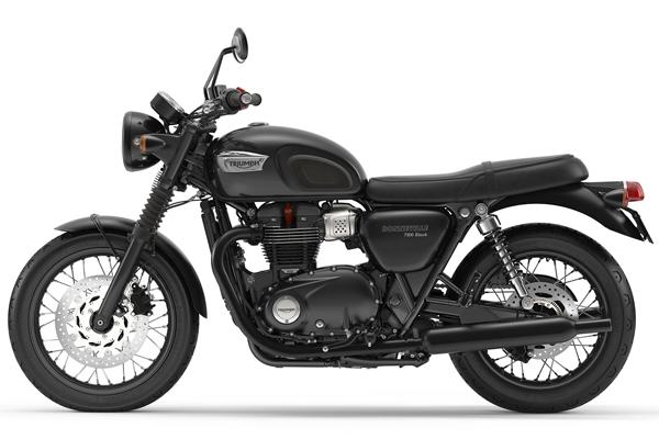 Bonneville T100 Black สเปค