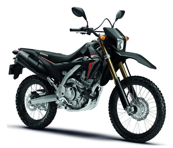 Honda CRF250L 2019 สีดำ