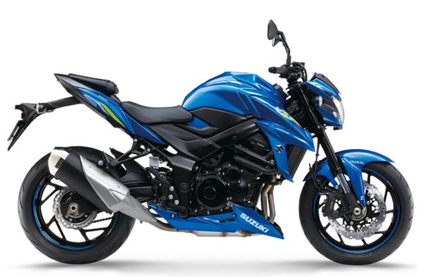 Suzuki GSX-S750 2019 สีน้ำเงิน