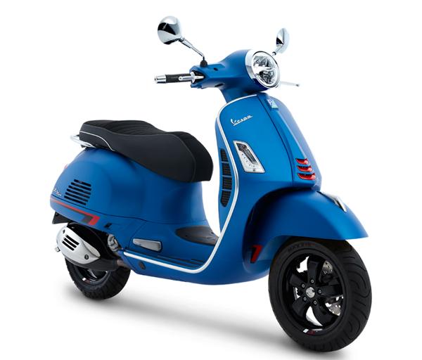 GTS Super Sport 300 2020 สีน้ำเงินด้าน