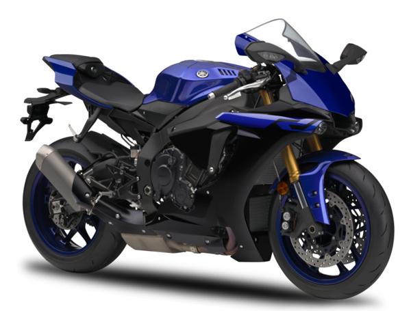 Yamaha R1 2019 สีน้ำเงิน