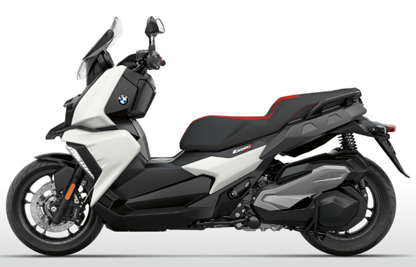 BMW C400X สีขาว