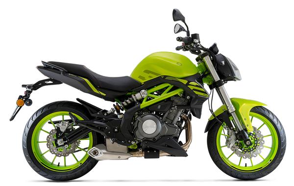 Benelli 302S สีเขียว