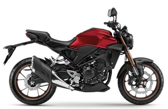 Honda CB300R 2020 สีแดง