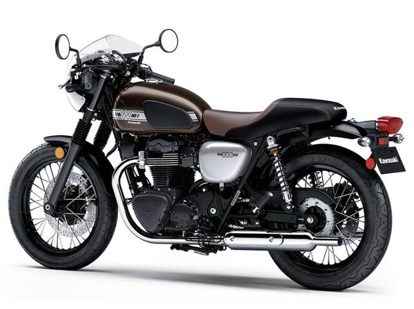 Kawasaki W800 Cafe สเปค