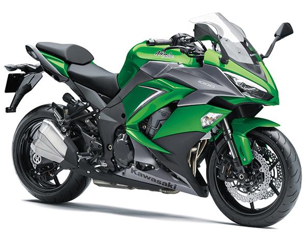 Ninja 1000 2019 สีเขียว