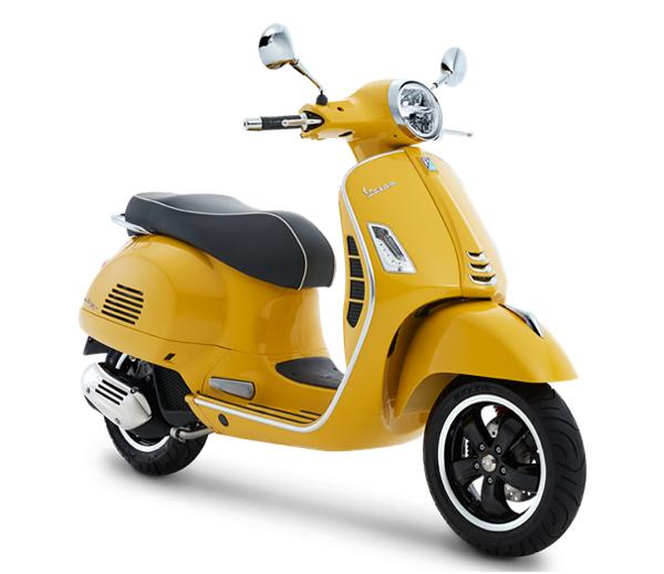 Vespa GTS Super 150 สีเหลือง