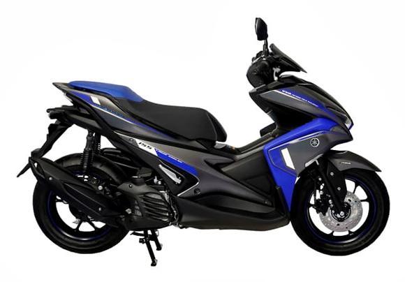 Aerox 155 2019 ABS สีน้ำเงิน
