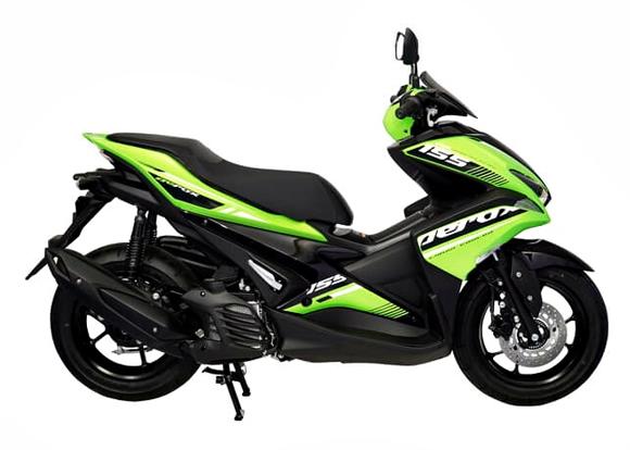 Aerox 155 2019 สีเขียว
