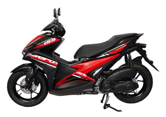 Aerox 155 2019 สีแดง