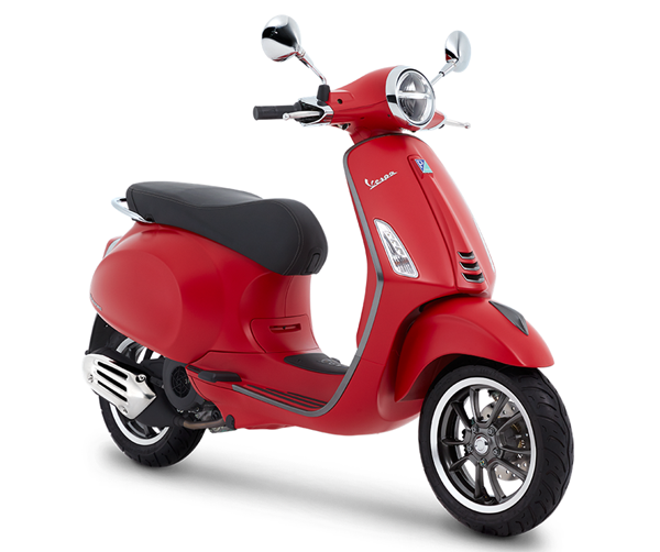 Primavera S 150 สีแดงด้าน