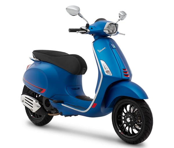 Vespa Sprint S 150 สีน้ำเงินด้าน