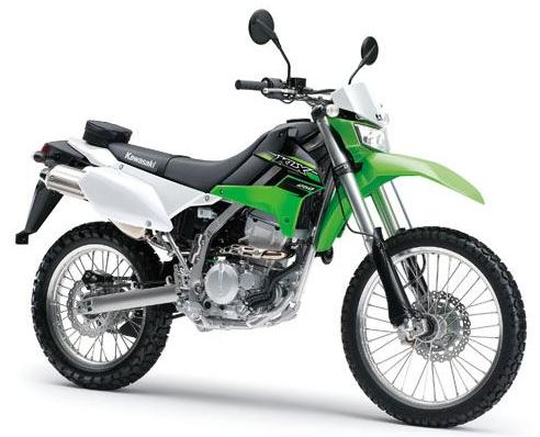 KLX250 สีเขียว